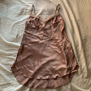 Victoria's Secret | Satin and lace slip